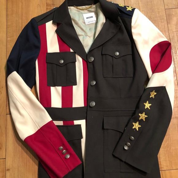 Moschino Jackets & Blazers - Moschino Women military jacket 8